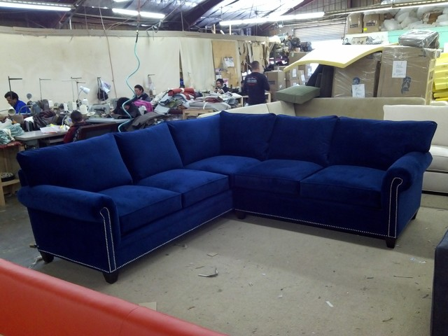 Carrollton Sectional - eclectic - sectional sofas - dallas - by
