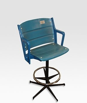 Authentic Yankee Stadium Seat Bar Stool Eclectic Bar