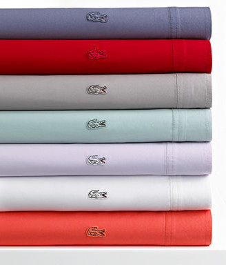 Lacoste Bedding Brushed Twill Sheet Set - contemporary - sheet ...