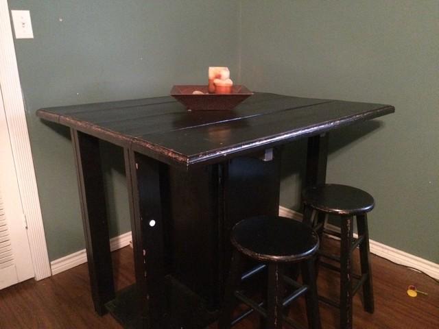 Custom Wood Pieces Indoor Pub And Bistro Tables Dallas