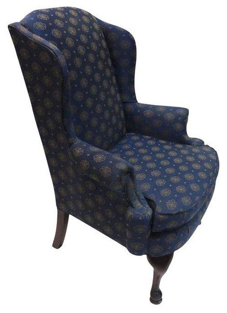 Vintage Broyhill Wingback Chair - $499 Est. Retail - $399 on Chairish ...