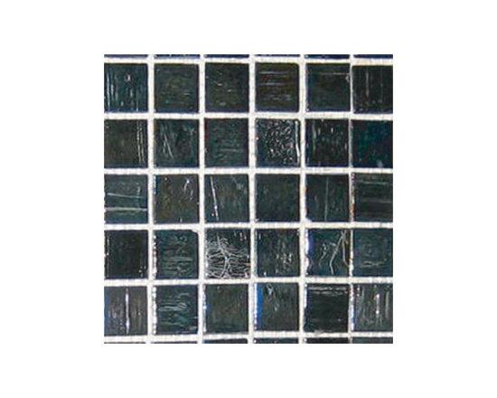 Silver Gold Glass Mosaics -