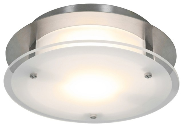Http Www Houzz Com Photos 7815726 Access Vision Round 12 Wide Brushed Steel Ceiling Light Contemporary Ceiling Lighting