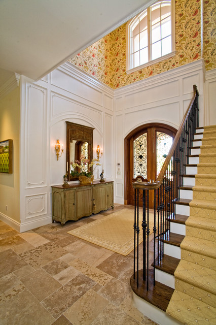 Country French Estate traditional