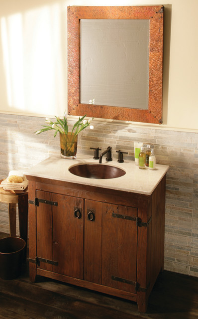 36 Quot Americana Vanity In Chestnut By Native Trails