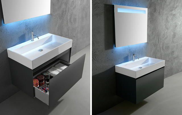 Bathroom Sink Top Mount : GESTO top mount sink - Bathroom Sinks - miami - by antoniolupi Miami