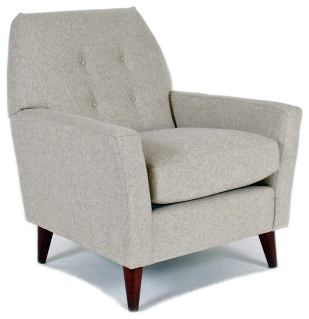 Shelby Chair, Wheat midcentury-armchairs-and-accent-chairs