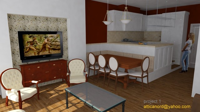 pholligan living space traditional-rendering