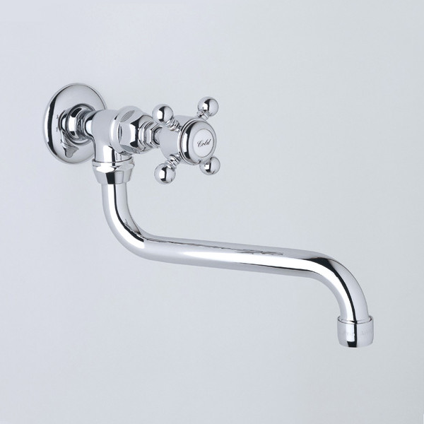 Rohl Country Kitchen Pot Filler - traditional - kitchen faucets