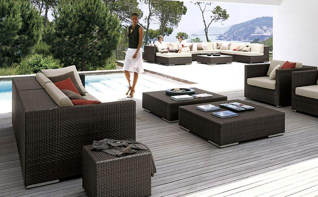 dedon lounge armchair outdoor sofas. Black Bedroom Furniture Sets. Home Design Ideas