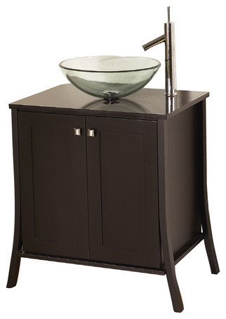 "allen + roth 31"" Espresso Stayton Continental Bath Vanity with Top"