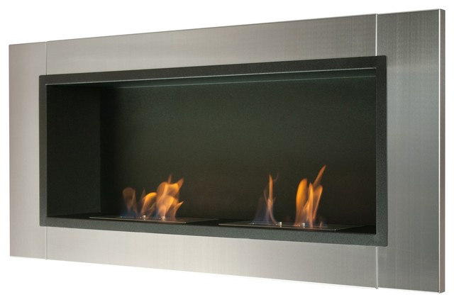 Wall Mount Ventless Ethanol Fireplace Lata
