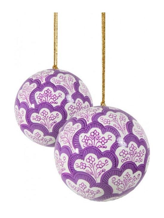 Hand-Painted Ball Ornament, Jemina, Landender -