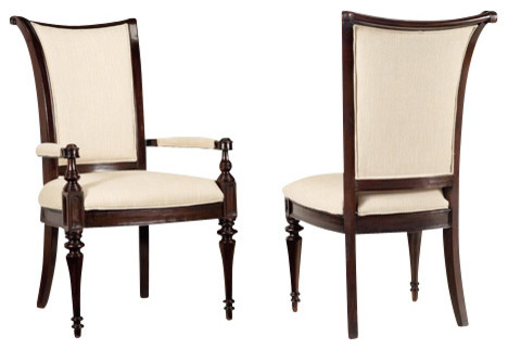 Upholstered Side Chair, Set of 2 traditional-chairs