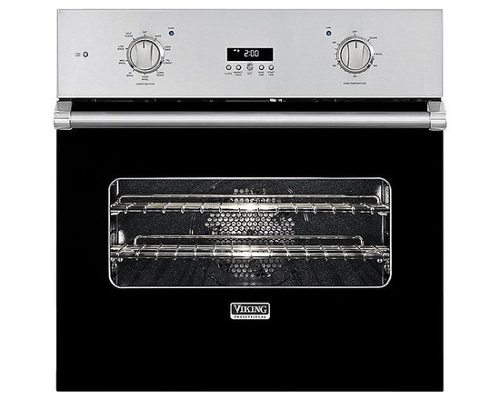 "Viking 30"" Single Electric Wall Oven, Black 