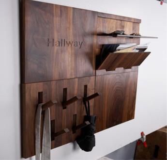 UtiliTILE, Hallway modern-hooks-and-hangers