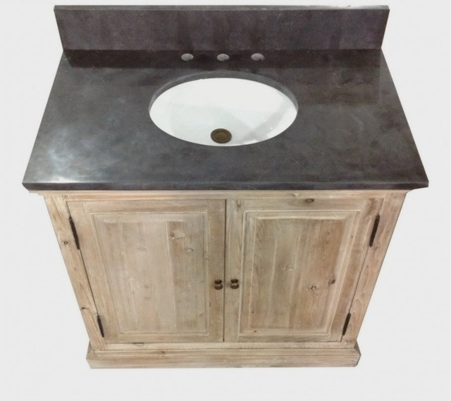 Creative Corner Vanity  Rustic  Bathroom Vanities And Sink Consoles  By