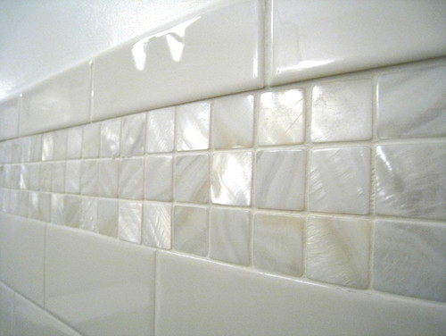 Would These Mother Of Pearl Tiles Also Be Suitable Or