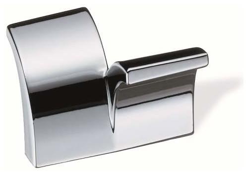 Schwinn Hardware 1 1/4 Inch ctc Symmetrical Tab Pull, Polished Chrome - Contemporary - Cabinet ...