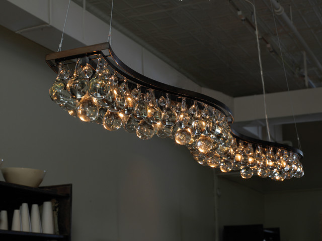 Double Wave 200cm Chandelier contemporary-chandeliers