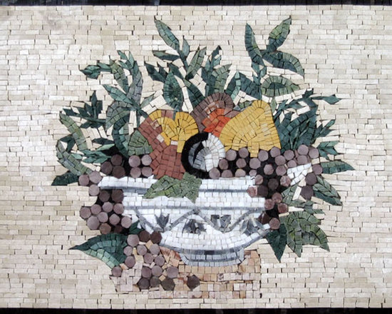 Backsplash handcrafted mosaic mural