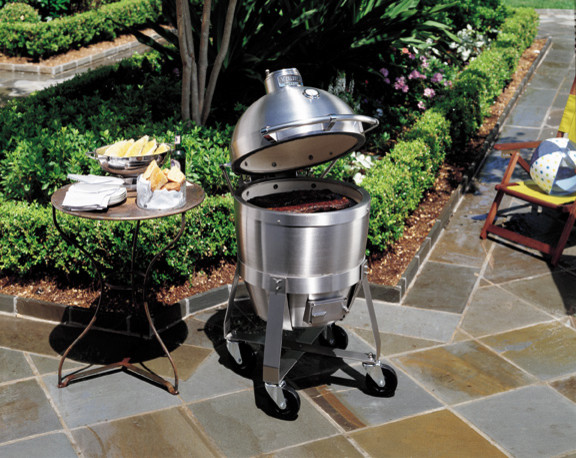Viking professional series vcqs001ss c4 outdoor cooker for Viking professional outdoor grill