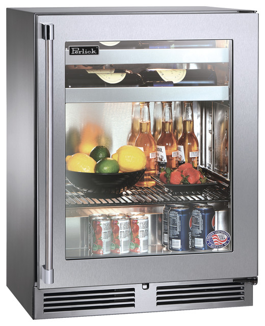 "Wide Shallow Bathroom Vanity Perlick 18"" Shallow-Depth Series Beverage Center refrigerators and ..."