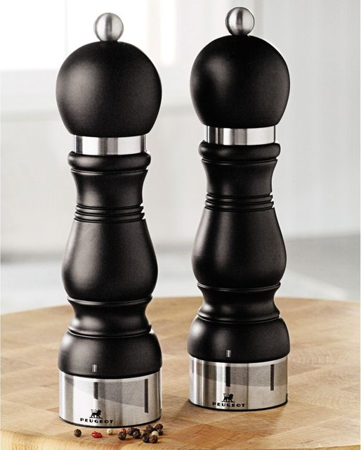 Peugeot Chateauneuf Salt And Pepper Mills Salt And