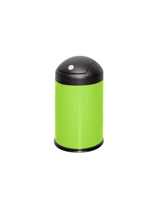 Swing Bathroom Waste Basket from Vita Futura - Our colorful waste paper basket is designed and produced in Germany. This waste paper basket with a lid allows easy access with a touch of a finger the lid swings open and then immediately closes.