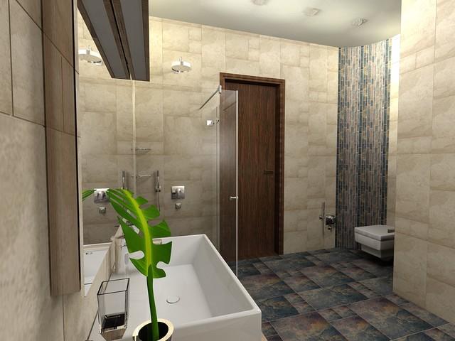 bathroom contemporary