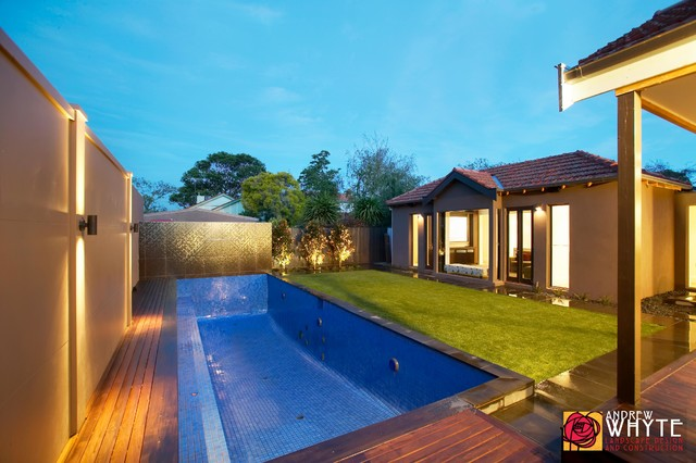Completed Projects contemporary-pool