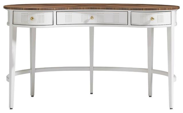 Charleston Regency Pinckney Kidney Desk traditional-desks-and-hutches