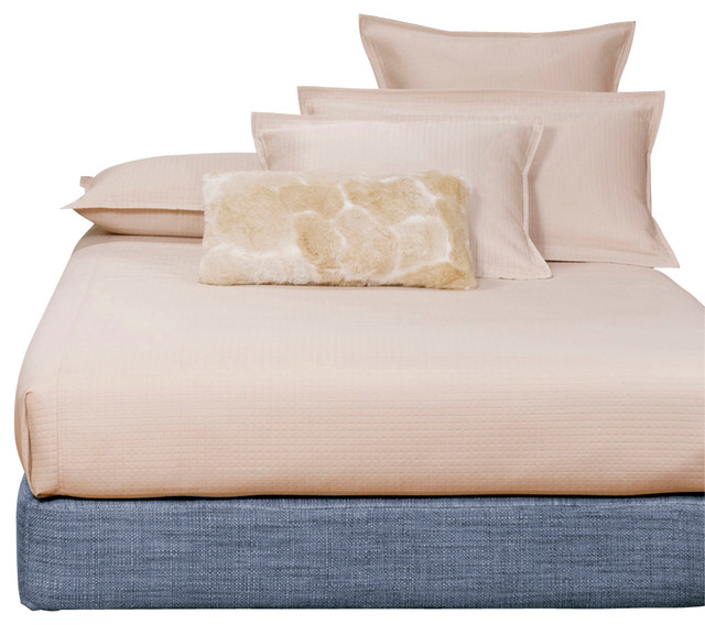 Coco Sapphire Full Sized Platform Bed and Headboard Kit contemporary-beds