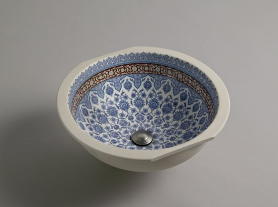 KOHLER K-14046-BU-96 Marrakesh Design on Camber Undercounter Lavatory traditional-bathroom-faucets-and-showerheads