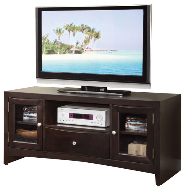 modern versatile wood entertainment tv stand console. Black Bedroom Furniture Sets. Home Design Ideas
