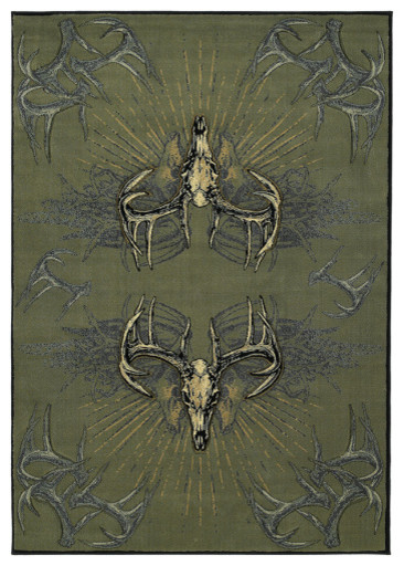 """United Weavers of America Contours/DCBW Legend Killers 2'7"""" x 7'6"""" Area Rugs modern-rugs"""