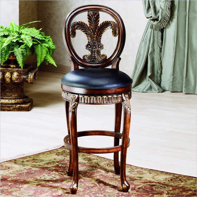Hillsdale Fleur De Lis 31 Quot Swivel Bar Stool In Island