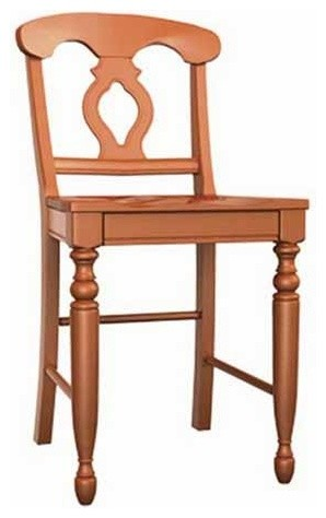 Broyhill Furniture - Color Cuisine Napoleon Farmhouse Counter Stool (Set of 2) - - Traditional ...
