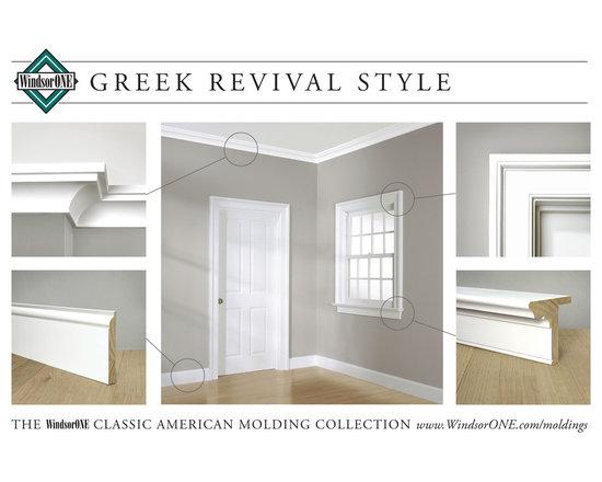 WindsorONE Greek Revival Moldings -