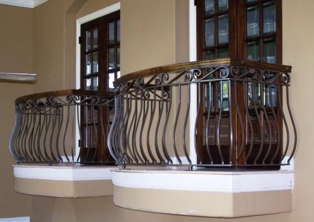 Aluminum Balcony Railing - Craftsman - miami - by Southeastern ...