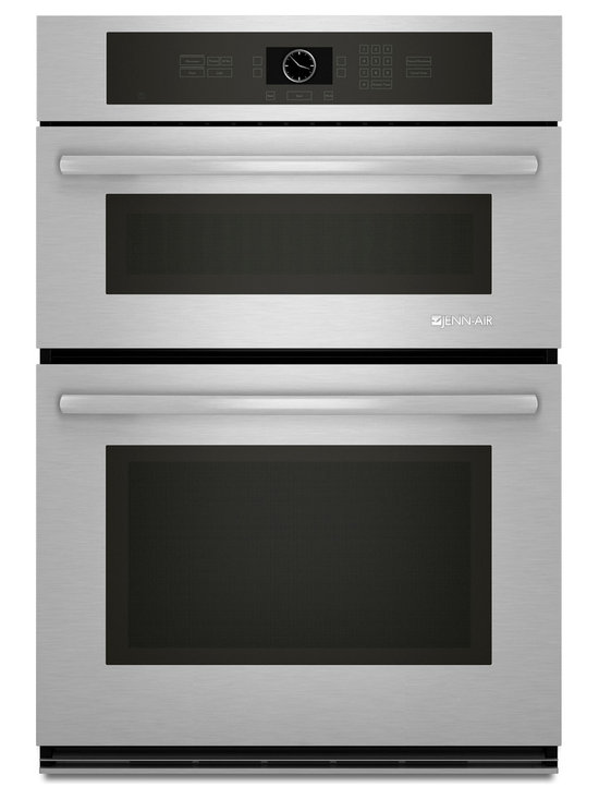 """Jenn-Air 30"""" Combination Microwave/wall Oven, Stainless/blk 