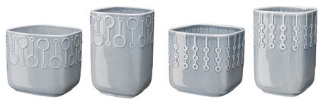 BLYGSAM Plant pot, set of 2 modern-indoor-pots-and-planters