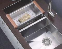 Dawn Stainless Steel Sinks contemporary-kitchen-sinks