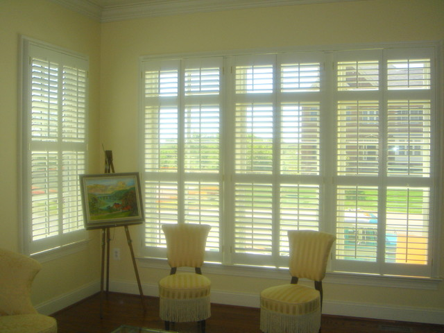 Shutters contemporary-window-treatments
