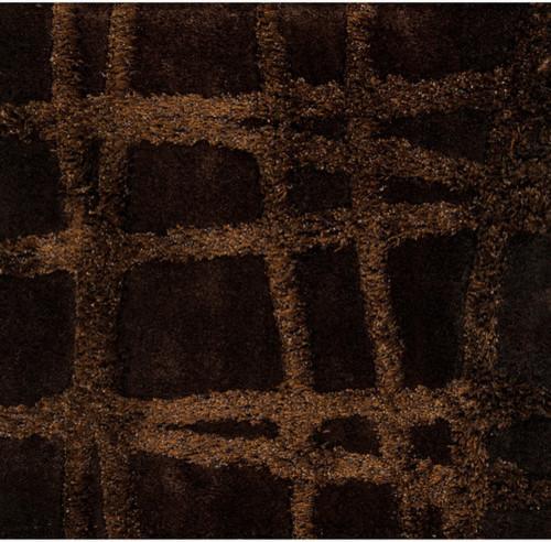 Graph Dark Chocolate Brown Rug