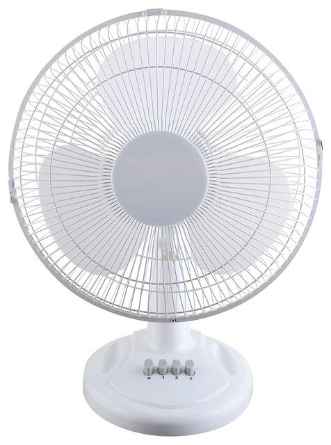 12-inch Oscillating Table Fan contemporary-fans