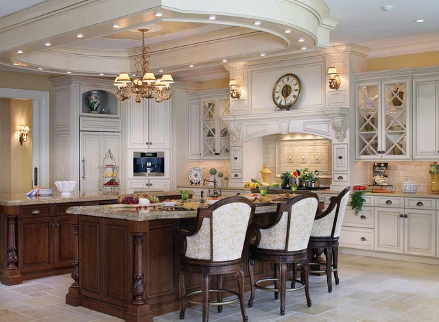 Peter Salerno - English Manor Kitchen traditional