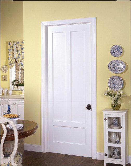 Farmhouse door Traditional Interior Doors by TruStile Doors