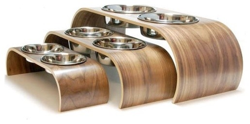 Series 2 Double Raised Feeder contemporary-pet-supplies
