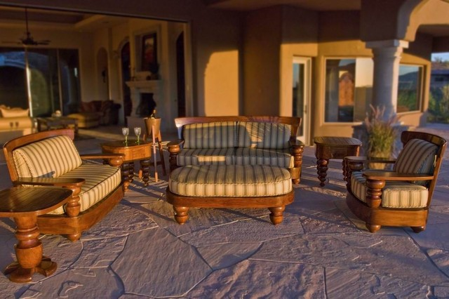 The Outdoor Collections tropical-patio